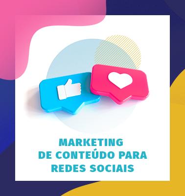 Marketing de Conteúdo para Redes Sociais – ONLINE